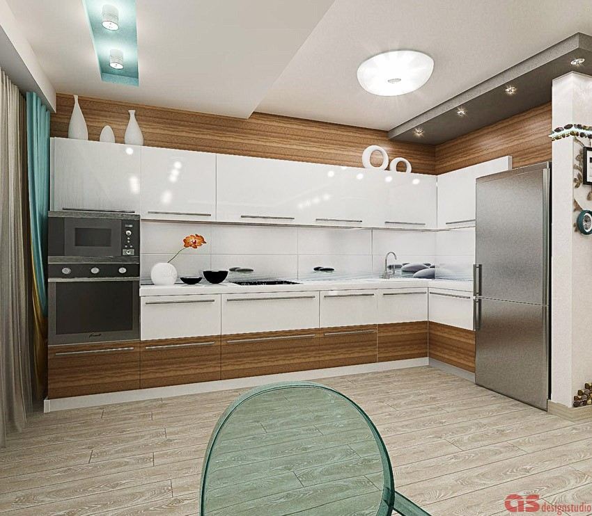Вид на кухню dor