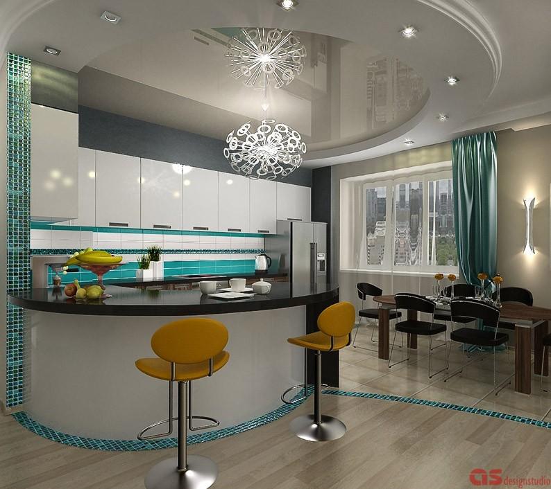Вид на кухню3